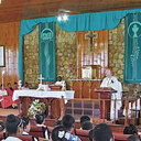 Bishop Bevard celebrated Thanksgiving Mass for the Catholic Schools' of St. Croix at Sts. Joachim and Ann Catholic Church on November 23, 2016